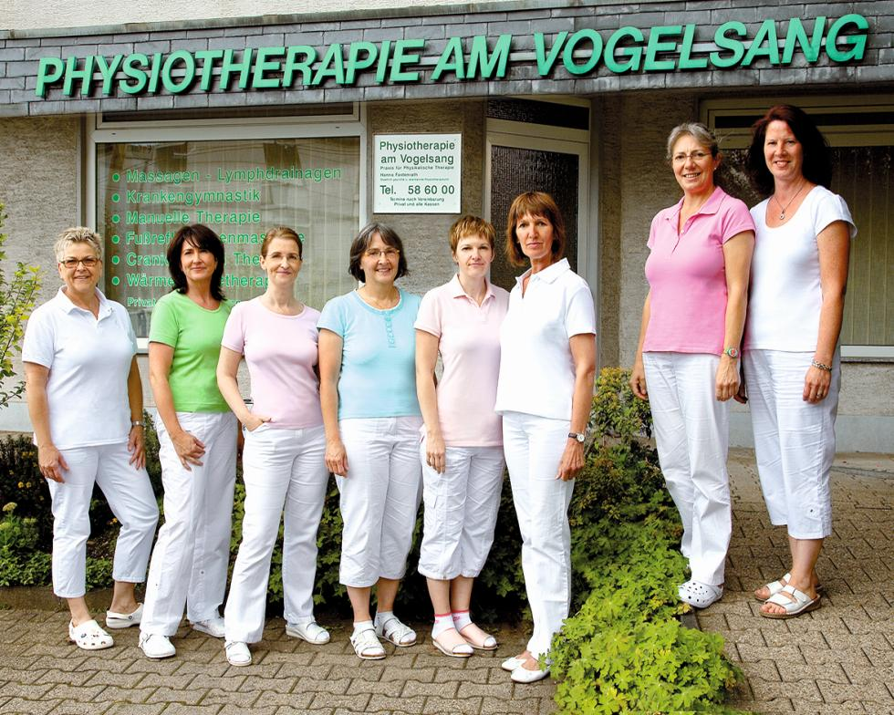 Praxisteam Physiotherapie am Vogelsang